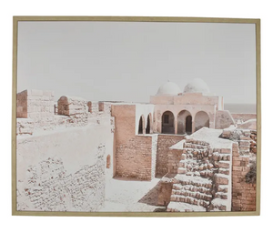 Kasbah Natural Frame Canvas