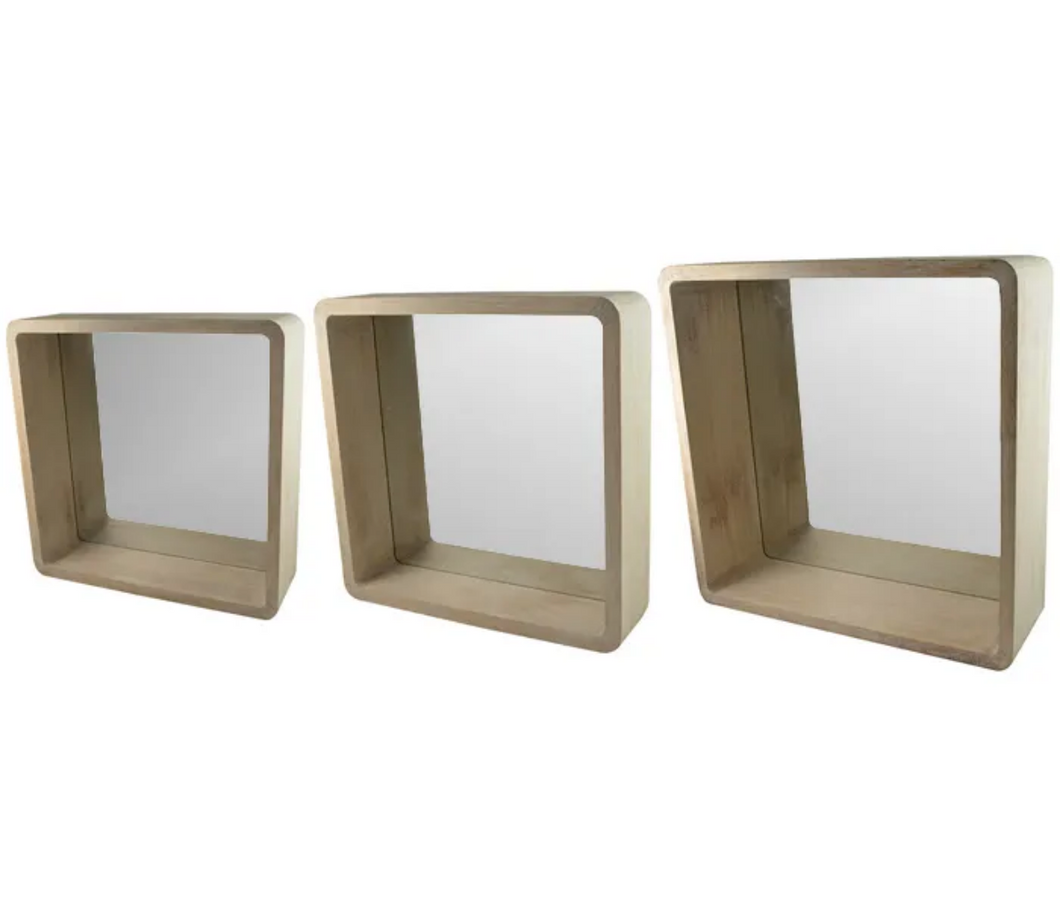 Deep Square Mirrors - Set/3