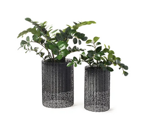 Malmo Pots Round - Grey - Set/2
