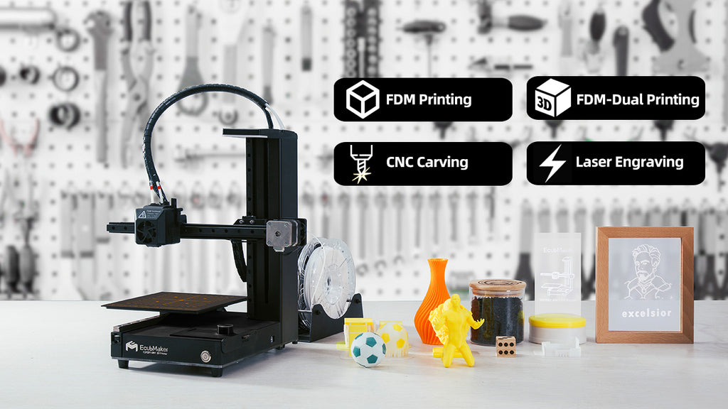 Meet the World's First Ever 4-in-1 3D Printer