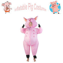 Load image into Gallery viewer, Inflatable blow up Costume Inflatable Pig Cosplay Costume for Kids