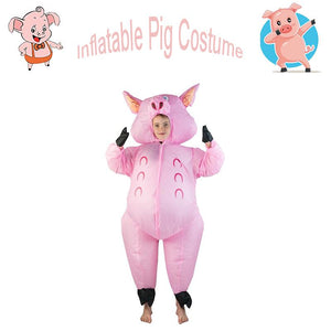 Inflatable blow up Costume Inflatable Pig Cosplay Costume for Kids