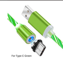 Load image into Gallery viewer, Magnetic Luminous and Fast Charging LED Phone Cable