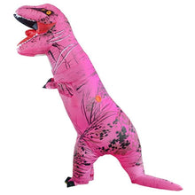 Load image into Gallery viewer, Inflatable Blow-up Dinosaur Costume Inflatable Cosplay T-Rex Jurassic Costume