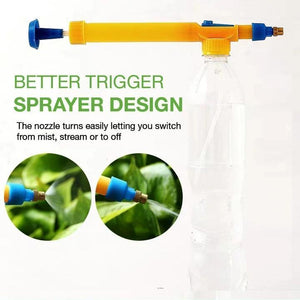 Manual Bottle Sprayer Head