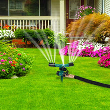 Load image into Gallery viewer, Lawn Automatic Water 360 Rotating Sprinkler - Tinklegem.com
