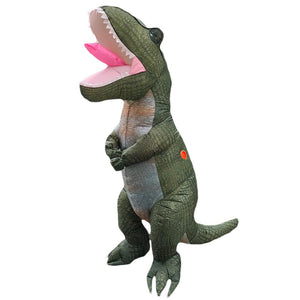 Inflatable Blow-up Dinosaur Costume Inflatable Cosplay Trex Costume