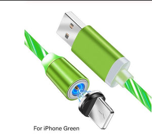 Magnetic Luminous and Fast Charging LED Phone Cable