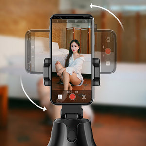 360° Selfie Shooting Gimbal Face Object Tracking Smart Phone Holder For Photo Vedio Vlog Live