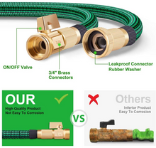 Load image into Gallery viewer, Expandable Garden Hose with 9 Function Nozzle