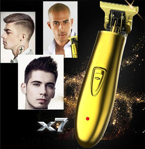 Professional Rechargeable Hair Clipper Electric Hair Trimmer Beard Razor for Men