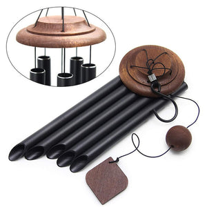 Outdoor 5 Tuned Metal Tubes Wind Chimes