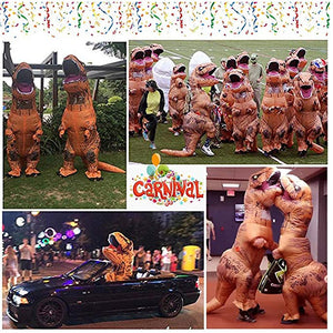 Inflatable Blow-up Dinosaur Costume Inflatable Cosplay T-Rex Jurassic Costume