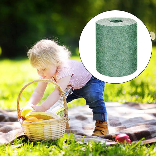 Biodegradable Grass Seed Mat Fertilizer Garden Picnic