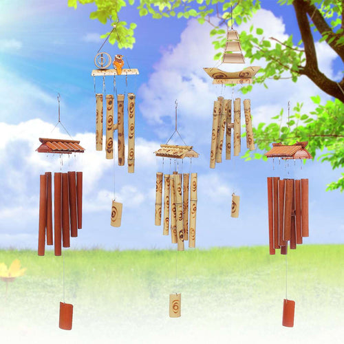 Amazing Grace Bamboo Wind Chimes