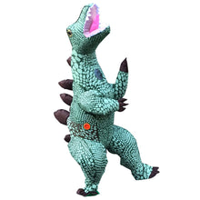 Load image into Gallery viewer, Inflatable Blow-up Dinosaur Costume Inflatable Cosplay Trex Costume