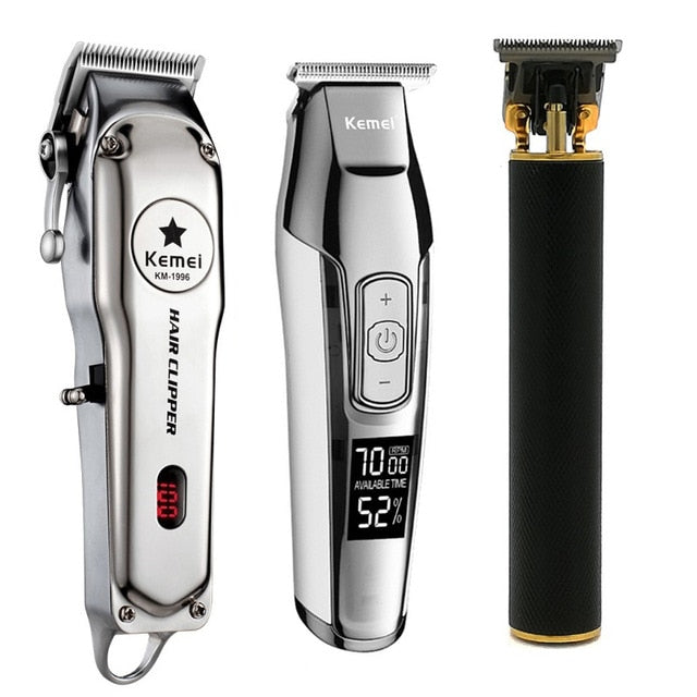 Kemei Professional Hair Trimmer Powerful Electric Hair Clipper Shaver