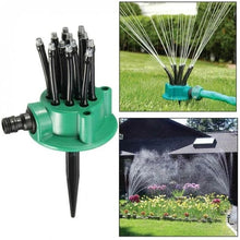 Load image into Gallery viewer, 360 Degree Adjustable Lawn Sprinkler