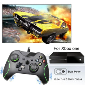 Xbox One Controller Gamepad for Microsoft Slim Pc Windows USB Wired
