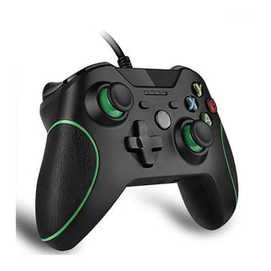 Controller Gamepad USB Wired For Microsoft Slim Pc Windows Xbox One