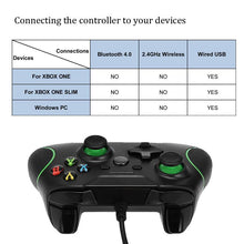 Load image into Gallery viewer, Controller Gamepad USB Wired For Microsoft Slim Pc Windows Xbox One