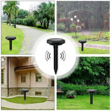 Load image into Gallery viewer, Snake Repeller Deterrent For Yards & Safe For Dogs Solar Powered