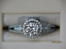 Load image into Gallery viewer, 18K White Gold Engagement Ring Semi-Mount