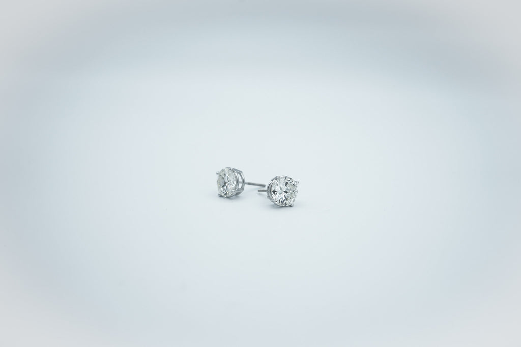 Custom Diamond Studs
