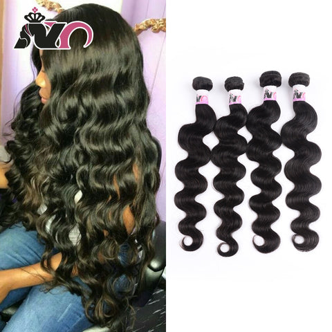 Brazilian Hair Body Wave 4 Bundles Hair 100% Human Hair