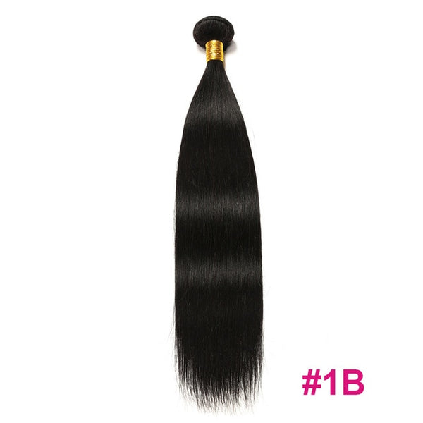 Brazilian Hair Weave Bundles 1/4or 3 Bundles Human Hair