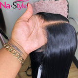 Transparent Lace Wigs Bob Lace Front Human Hair Wigs