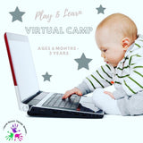 (4 Weeks) Play and Learn Virtual Camp