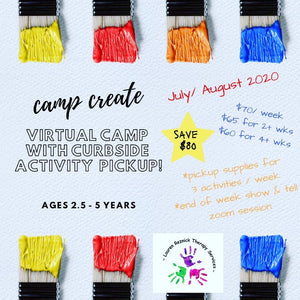 (2 Weeks) Camp Create!