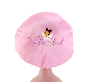 Wonderland Girl Satin Bonnet