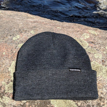 Load image into Gallery viewer, Tuque couleur charcoal - 7 pouces