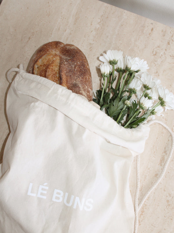 SUSTAINABLE WAYS TO REUSE YOUR LÉ BUNS DRAWSTRING BAG