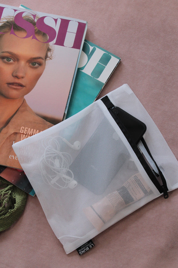 How to re-use your LÉ BUNS sustainable wash bag
