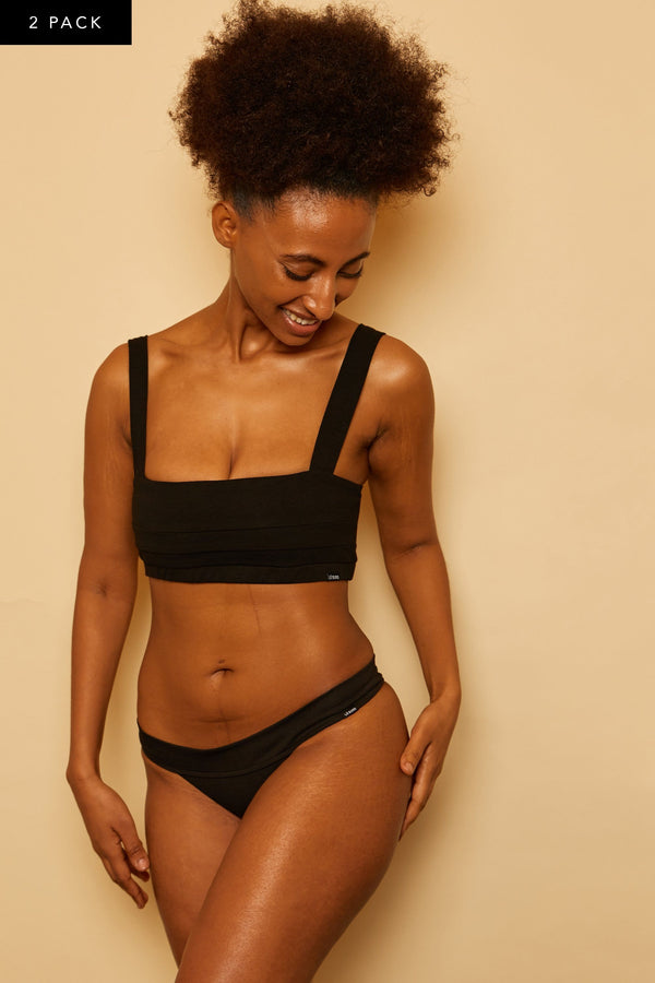 GIA ORGANIC COTTON BRALETTE BUNDLE