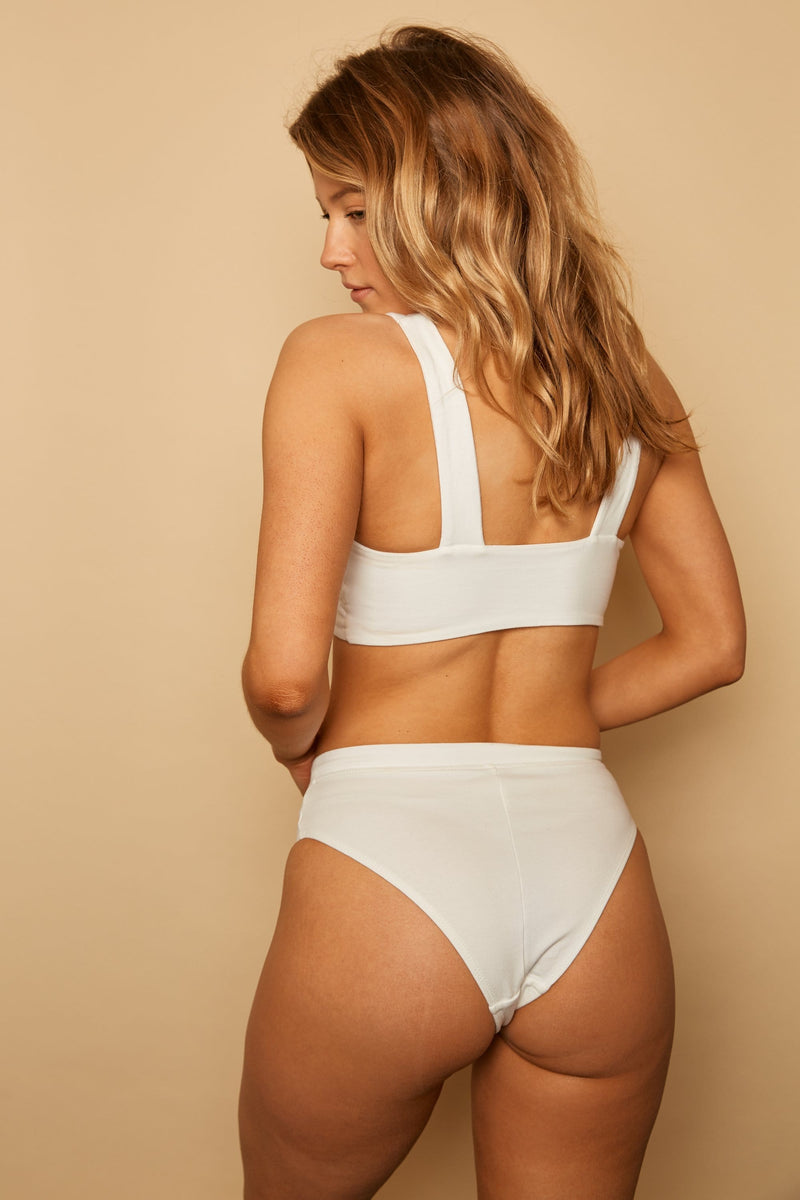 ELLE ORGANIC COTTON HIGH CUT BRIEF