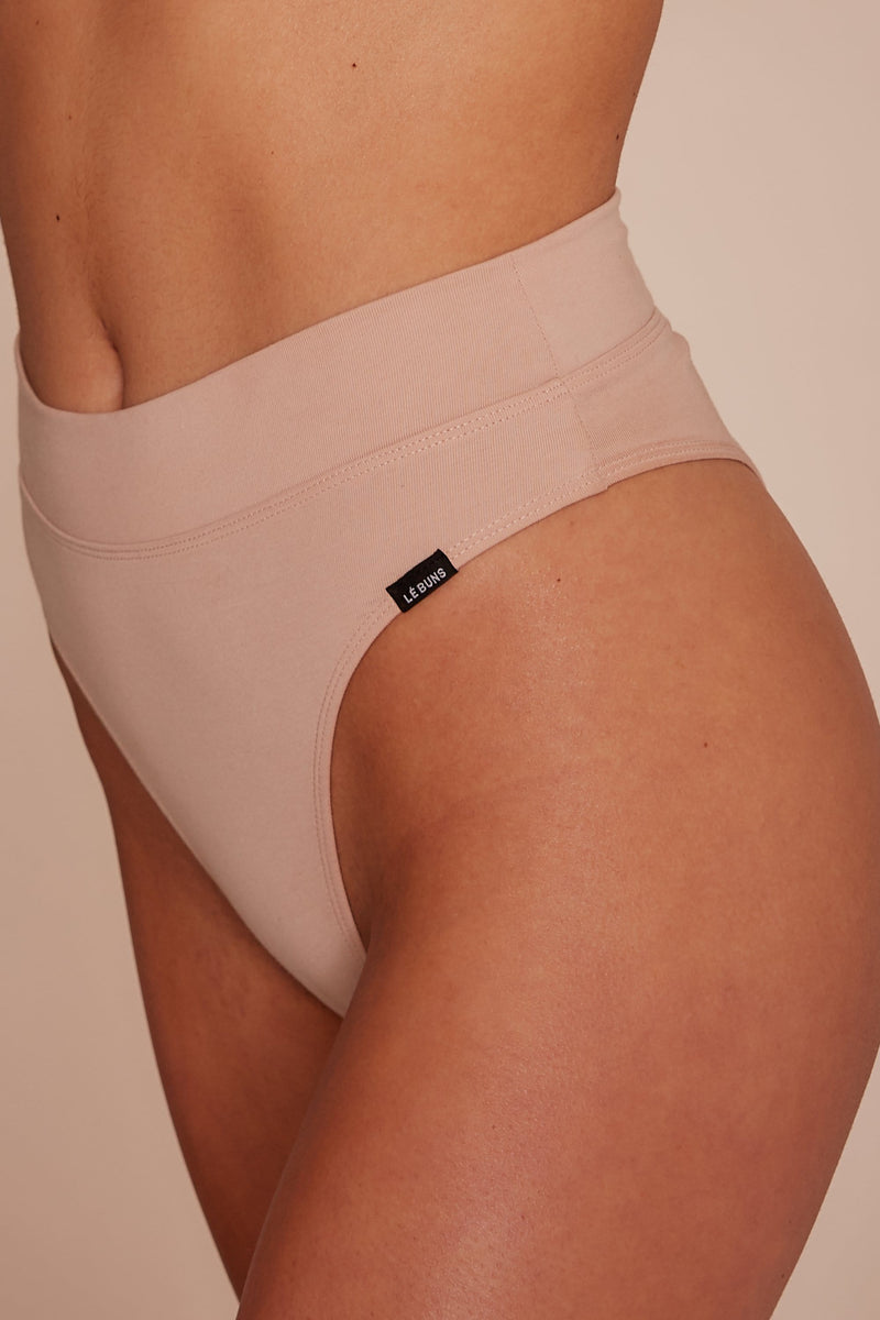 CHLOE ORGANIC COTTON HIGH CUT BRIEF
