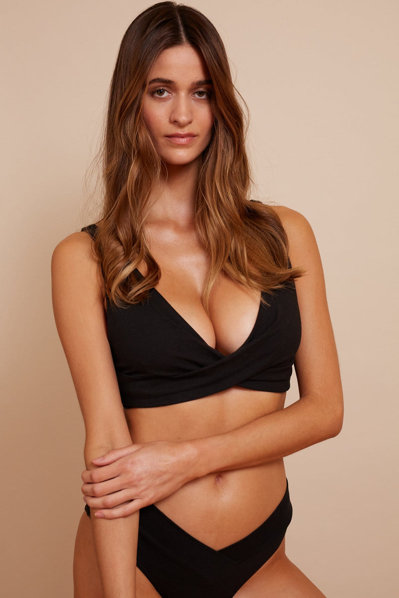 AVERY ORGANIC COTTON BRALETTE 2PKMULTIPACK