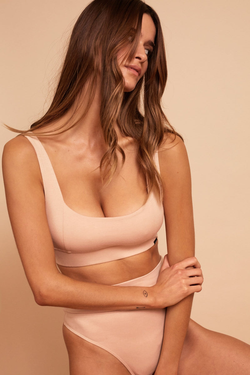 HARLOW ORGANIC COTTON BRALETTE 2PKMULTIPACK
