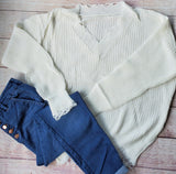 Karly Distressed Sweater