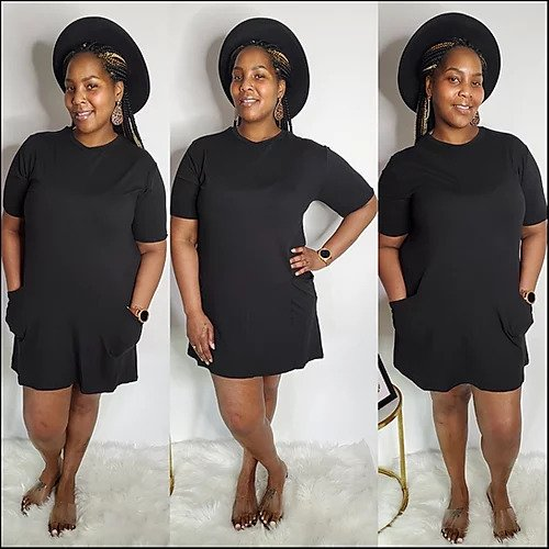 What A Girl Wants T-Shirt Dress