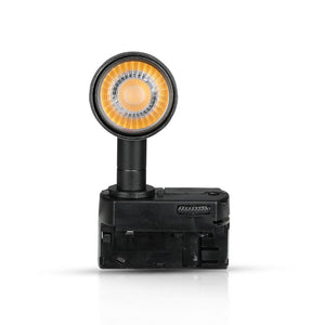 V-TAC PRO TRACK LIGHT LED COB 20W COLORE NERO CHIP SAMSUNG