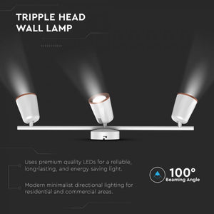 V-TAC LAMPADA DA MURO WALL LIGHT LED 18W