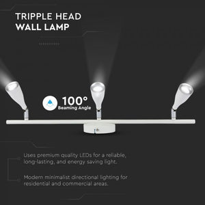 V-TAC  LAMPADA DA MURO WALL LIGHT LED 13,5W