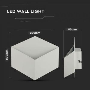 V-TAC LAMPADA LED DA MURO WALL LIGHT 3W