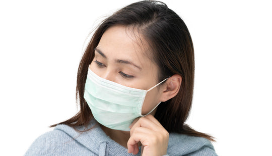 Irritation behind ears from face masks during COVID