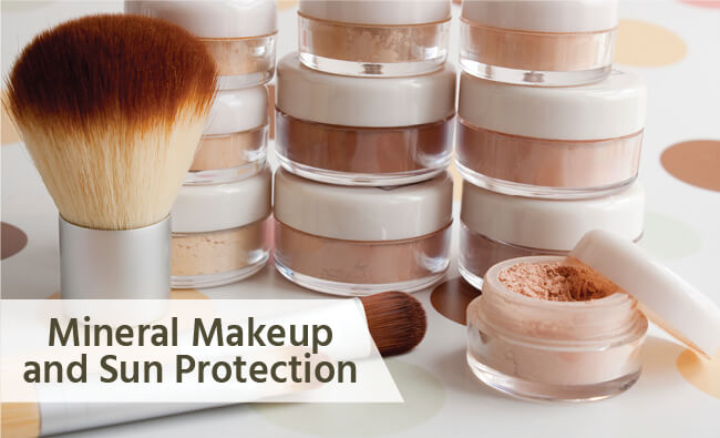 Does mineral makeup give your skin sun protection?